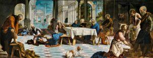 El Lavatorio Tintoreto. Museo del Prado